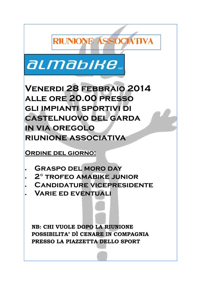 convocazione riunione febbraio 2014